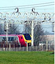 Renewed fencing for Birse Rail.