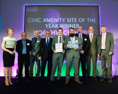 hw martin waste ltd wins civic amenity site of the year. Black Bedroom Furniture Sets. Home Design Ideas