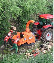 HW Martin performing vegetation management for Network Rail.