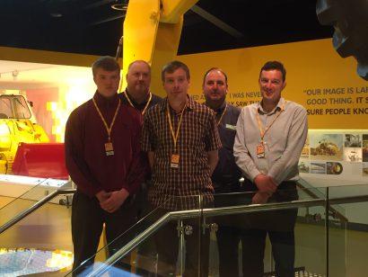 jcb world headquarters hosts team  hw martin plant  hw martin group