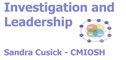 The logo for Investigation and Leadership.