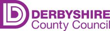 The Derbyshire County Council logo.