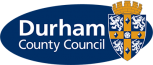 The Durham County Council logo.