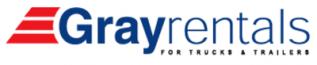Grayrentals logo.