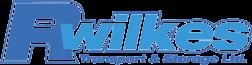 R Wilkes transport logo.