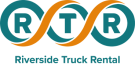 Riverside truck rental logo.