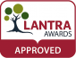 Lantra Approved logo.